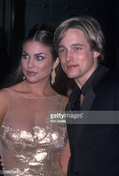 Nadia Bjorlin and Jay Kenneth Johnson attend 28th Annual Daytime Emmy Awards on May 18 2001 at Radio City Music Hall in New York City