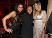 Nadia Bjorlin Andy Cheng and Mira Sorvino during 'Redline' Los Angeles Premiere After Party at Roosevelt Hotel in Hollywood California United States