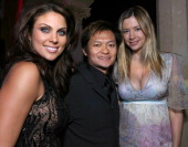 Nadia Bjorlin Andy Cheng director and Mira Sorvino
