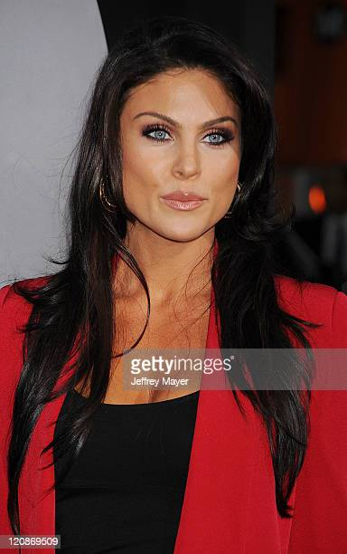 Nadia Bjorlin arrives at the 'Final Destination 5' Los Angeles Premiere on August 10 2011 at Grauman'S Chinese Theatre in Hollywood California