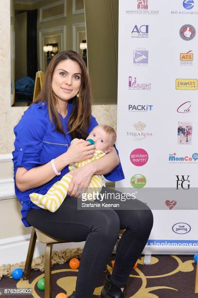 Nadia Bjorlin attends Diono Presents Inaugural A Day of Thanks and Giving Event at The Beverly Hilton Hotel on November 19 2017 in Beverly Hills...