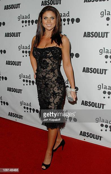 Nadia Bjorlin during 18th Annual GLAAD Media Awards Arrivals at Kodak Theatre in Hollywood California United States