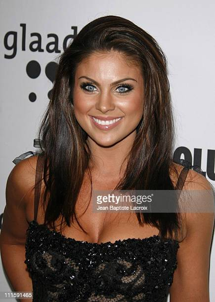 Nadia Bjorlin during 18th Annual GLAAD Media Awards Los Angeles Arrivals at Kodak Theatre in Hollywood California United States