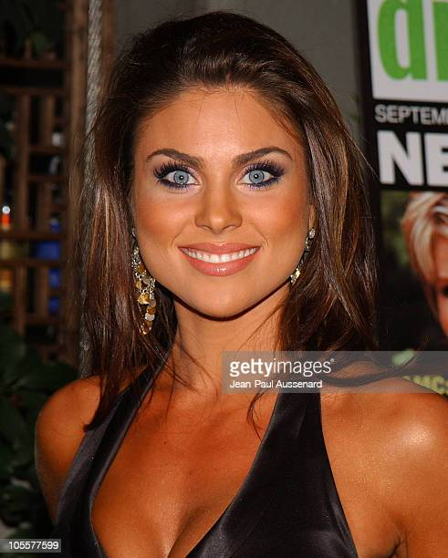 Nadia Bjorlin during 19th Annual Soap Opera Digest Awards Reception Arrivals at White Lotus in Hollywood California United States