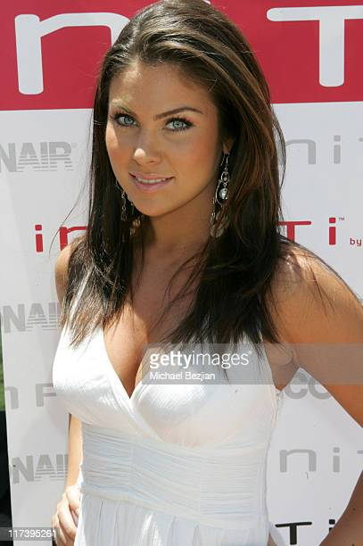 Nadia Bjorlin during 2007 Silver Spoon MTV Movie Awards Gifting Suite Day 1 in Los Angeles California United States Photo by Michael...