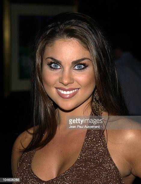 Nadia Bjorlin during 'A List' Party Night at Le Meridien at Le Meridien Hotel in Beverly Hills California United States
