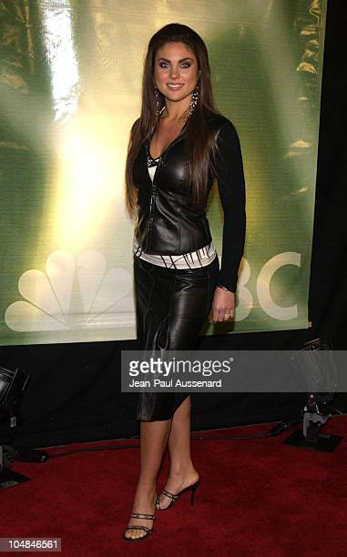 Nadia Bjorlin during NBC AllStar Winter Party at Bliss in Los Angeles California United States