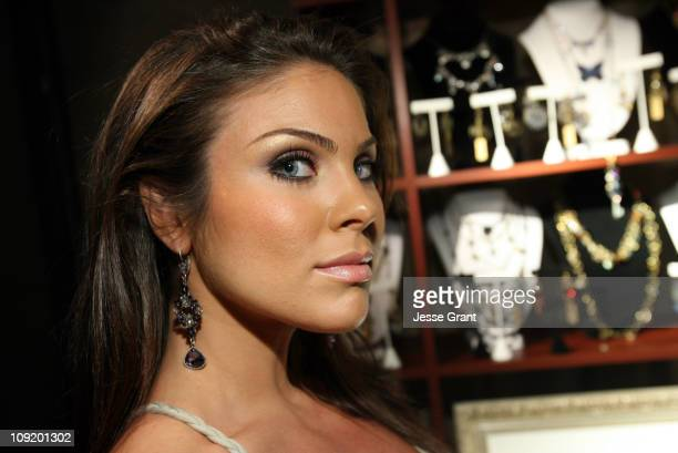 Nadia Bjorlin during On 3 Productions Gifting Suite at The 2007 Daytime Emmy Awards Day 1 at Kodak Theatre in Los Angeles California United States