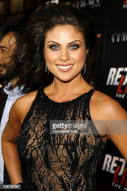 Nadia Bjorlin during 'Redline' Los Angeles Premiere Red Carpet at Grauman's Chinese Theater in Hollywood California United States
