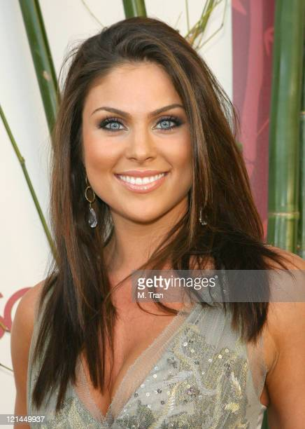 Nadia Bjorlin during SOAPnet Hosts 'Night Before' Party for the 2007 Daytime Emmy Award Nominees at Boulevard3 in Hollywood California United States