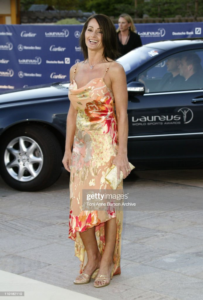 Nadia Comaneci during 2003 Laureus World Sports Awards Arrivals at Grimaldi Forum in Monte Carlo Monaco