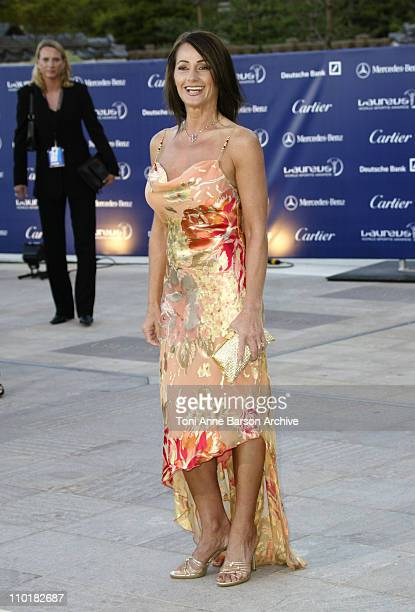 Nadia Comaneci during 2003 Laureus World Sports Awards Arrivals at Grimaldi Forum in Monte Carlo Monaco
