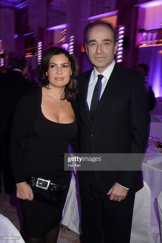Nadia Cope and her husband Jean Francois Cope attend the 'The Best 2013' Ceremony Awards 37th Edition at the Salons Hoche on December 16, 2013 in Paris, France.