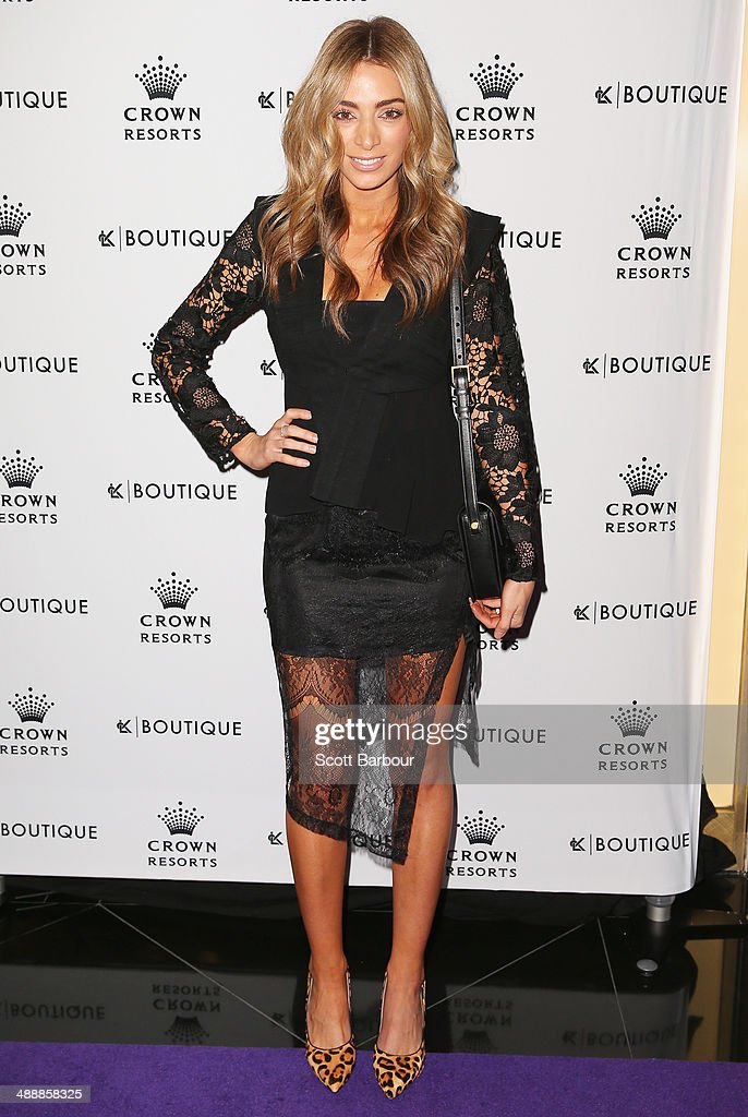 Nadia Coppolino Bartel arrives at Crown's Celebrity Mother's Day Luncheon at Crown on May 9, 2014 in Melbourne, Australia.