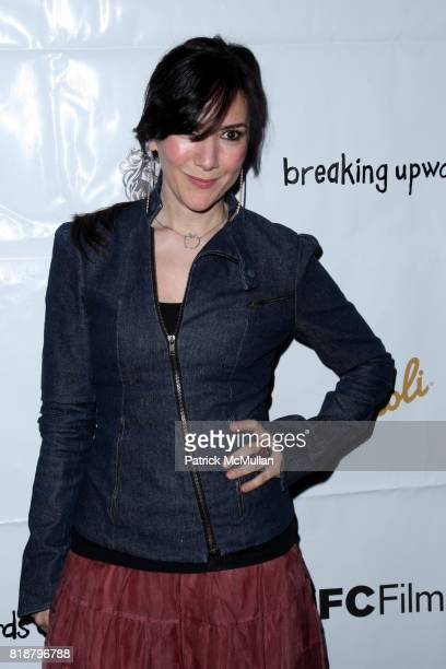 Nadia Dajani attends IFC FILMS Presents the New York Premiere of BREAKING UPWARDS at IFC Film Center on April 1 2010 in New York City