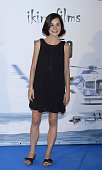 Nadia de Santiago attends the premiere of 'El Nino' at Kinepolis Cinema on August 28 2014 in Madrid Spain