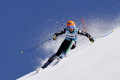 Nadia Fanchini of Italy competes during the Audi FIS Alpine Ski World Cup Finals Women's SuperG on March 13 2014 in Lenzerheide Switzerland