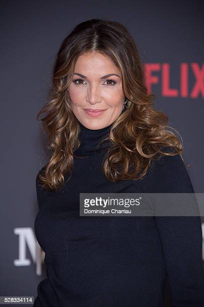 Nadia Fares attends the 'Marseille' Netflix TV Serie Wold Premiere At Palais Du Pharo In Marseille on May 4 2016 in Marseille France