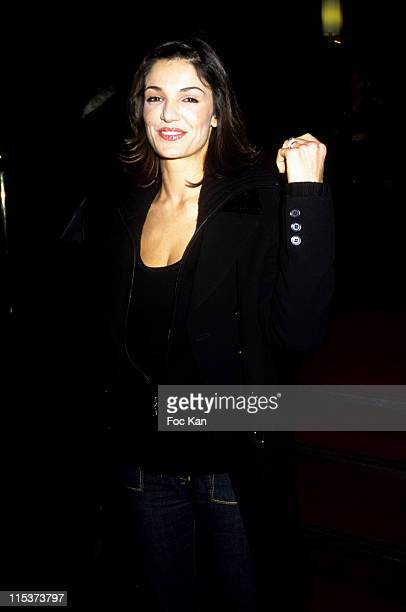 Nadia Fares during 'The Ex Woman Of My Life' Paris Premiere at Gaumont Marignan in Paris France