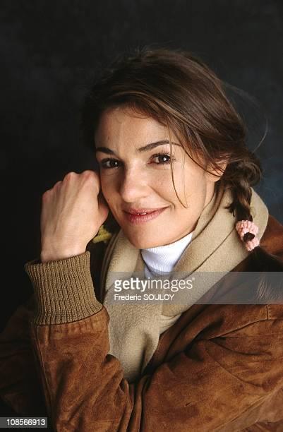 Nadia Fares in France in February 1999