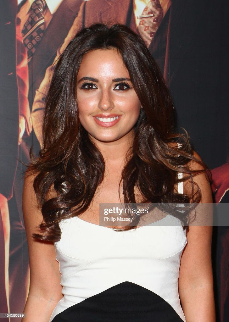 Nadia Forde attends the Irish premiere of 'Anchorman 2: The Legend Continues' on December 9, 2013 in Dublin, Ireland.