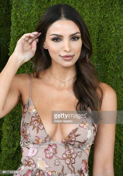 Nadia Gray arrives at the 8th Annual Veuve Clicquot Polo Classic at Will Rogers State Historic Park on October 14 2017 in Pacific Palisades California