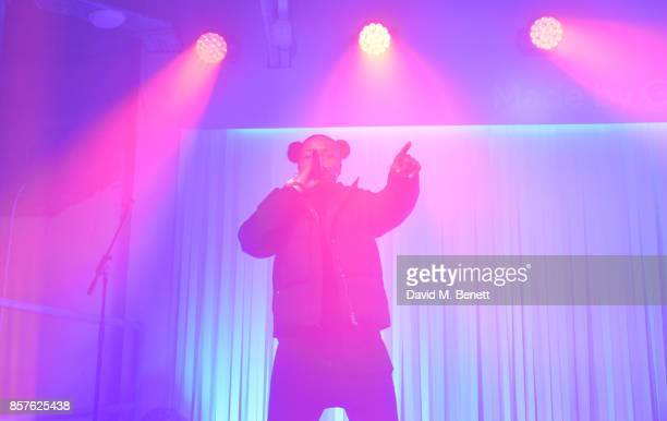 Nadia Rose performs at Google's Pixel 2 phone launch at The Old Selfridges Hotel on October 4 2017 in London England