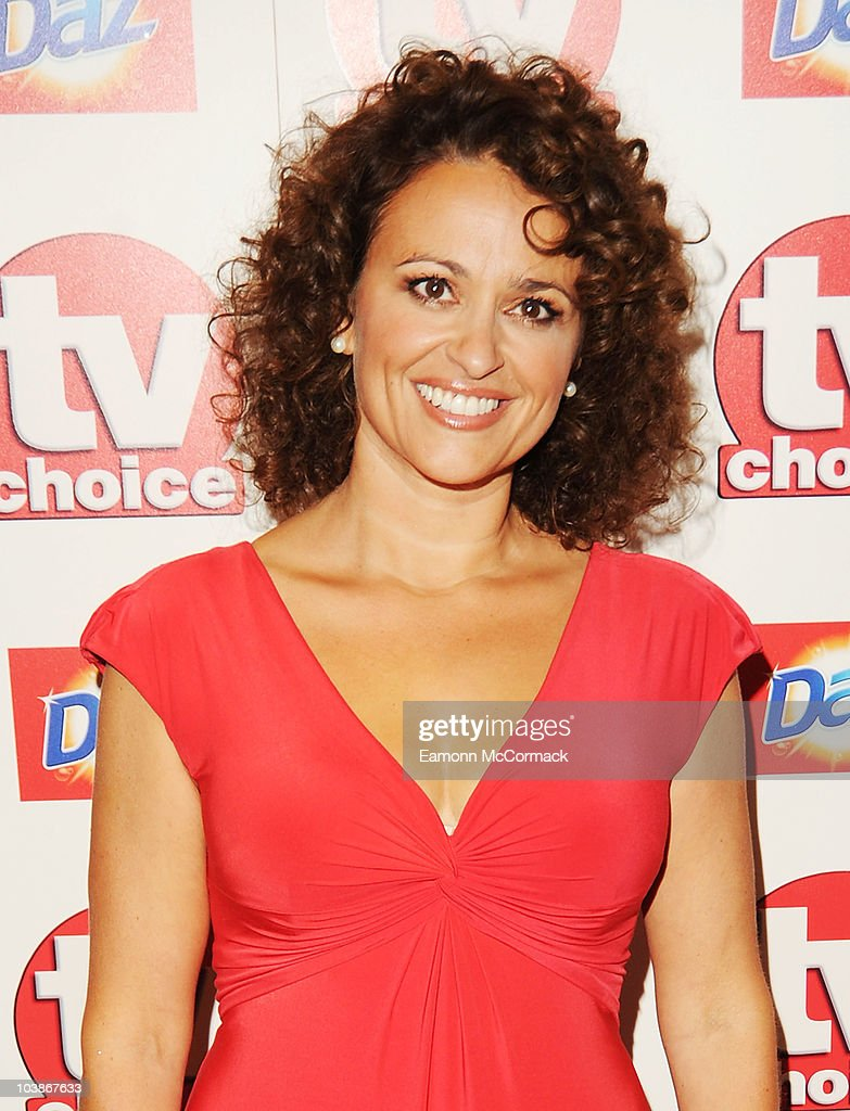 Nadia Sawalha arrives at the TVChoice Awards 2010 held at The Dorchester on September 6, 2010 in London, England.