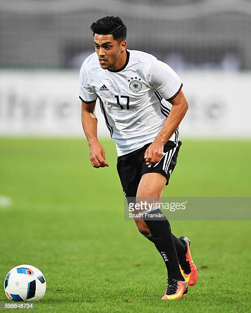 Nadiem Amiri of Germany in action during the Under21 friendly match between U21 Germany and U21 Slovakia at Auestadion on September 2 2016 in Kassel...