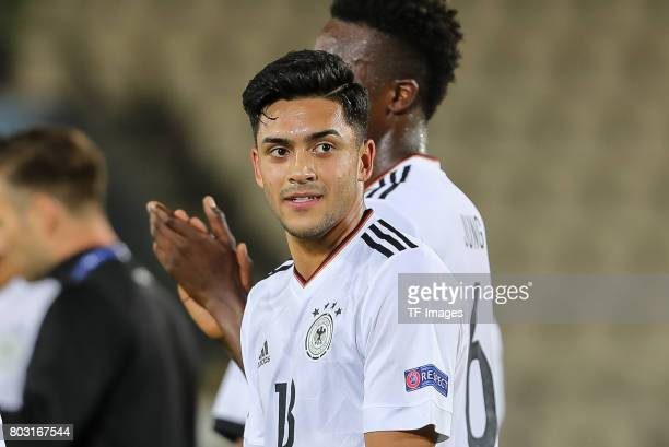 Nadiem Amiri of Germany looks on during the UEFA European Under21 Championship Group C match between Germany and Denmark at Krakow Stadium on June 21...