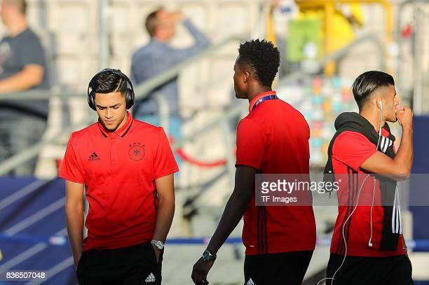 Nadiem Amiri of Germany looks on during the UEFA U21 Final match between Germany and Spain at Krakow Stadium on June 30 2017 in Krakow Poland