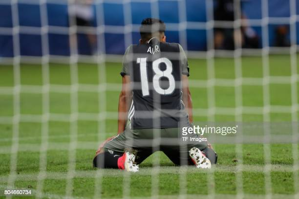 Nadiem Amiri of Germany nach verpasster Torchance during the UEFA European Under21 Championship Semi Final match between England and Germany at Tychy...