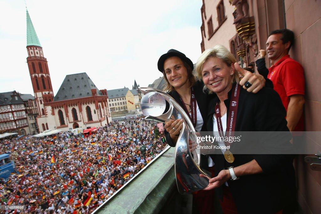Germany Women's Celebration