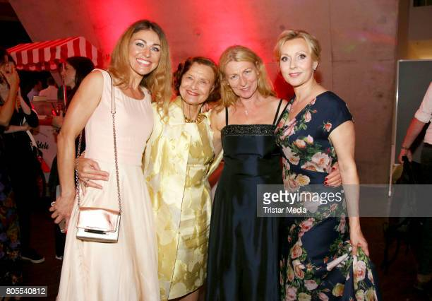 Nadine Arents Brigitte Antonius Anne Moll and Dana Golombek attend the 'Rote Rosen' TV Show Gala To Celebrates 2500 Episodes on July 1 2017 in...