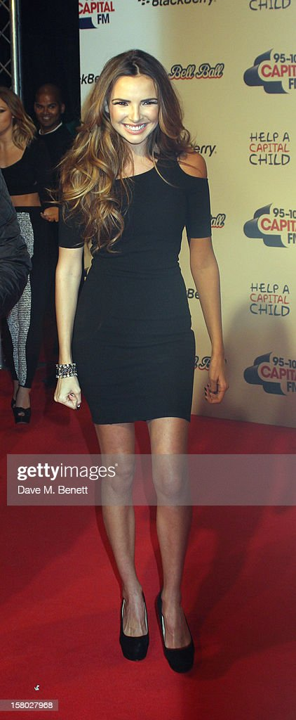 Nadine Coyle attends the Capital FM Jingle Bell Ball at 02 Arena on December 9, 2012 in London, England.
