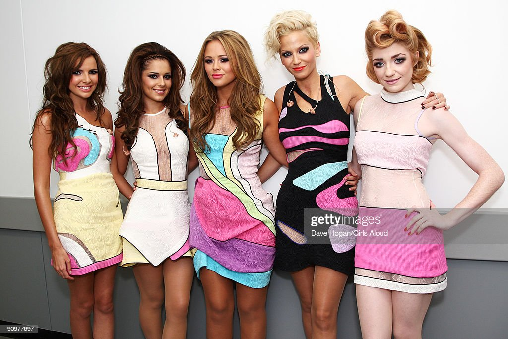 Girls Aloud Perform At Wembley Stadium