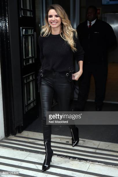 Nadine Coyle seen at BBC Radio 2 on October 10 2017 in London England