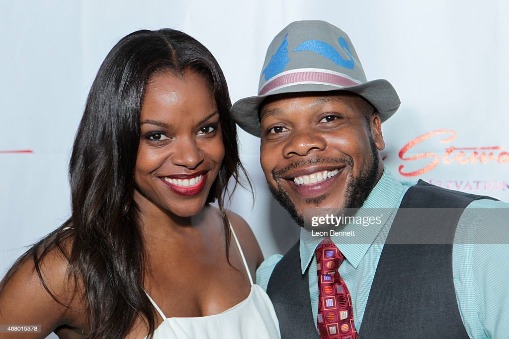Nadine Ellis and Carell Augustus attended the Kellee Stewart Birthday Party With A Purpose For Her Favorite Charities ChildHelp And Kids In The...