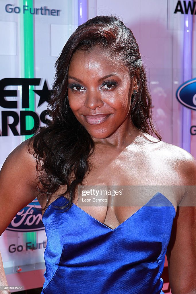 Nadine Ellis arrived at the BET Make A Wish Foundation Recipient Wish To Attend BET Awards Red Carpet Arrivals on June 29 2014 in Los Angeles...