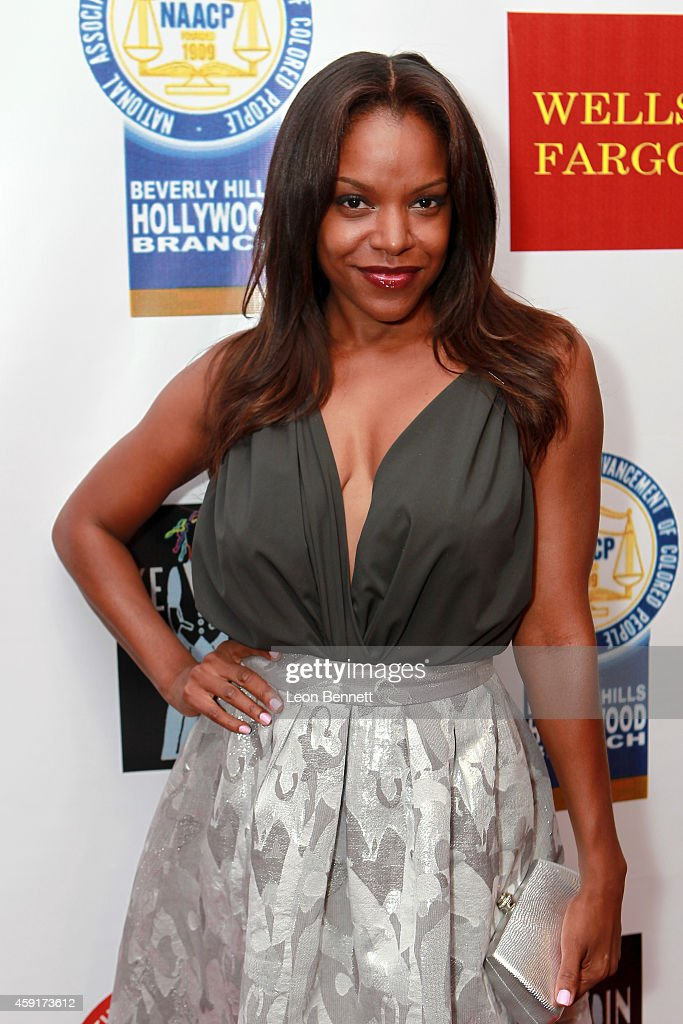 Nadine Ellis arrives at the 2th Annual NAACP Theatre Awards at Saban Theatre on November 17 2014 in Beverly Hills California