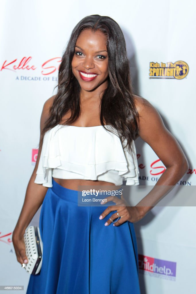 Nadine Ellis attended the Kellee Stewart Birthday Party With A Purpose For Her Favorite Charities ChildHelp And Kids In The Spotlight at Mr C Beverly...