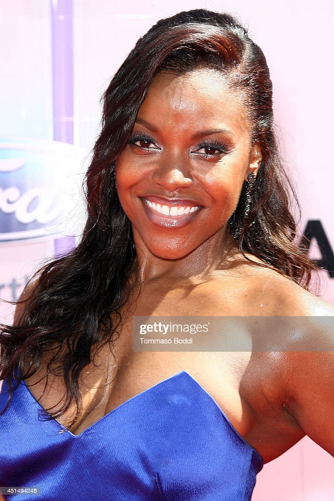 Nadine Ellis attends the 'BET AWARDS' 14 held at Nokia Theatre LA Live on June 29 2014 in Los Angeles California