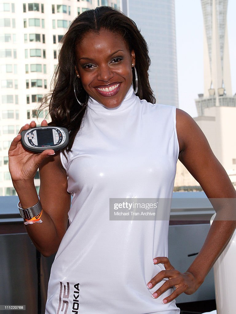 Nadine Ellis during Nokia E3 Party May 9 2006 at Standard Downtown in Los Angeles California United States