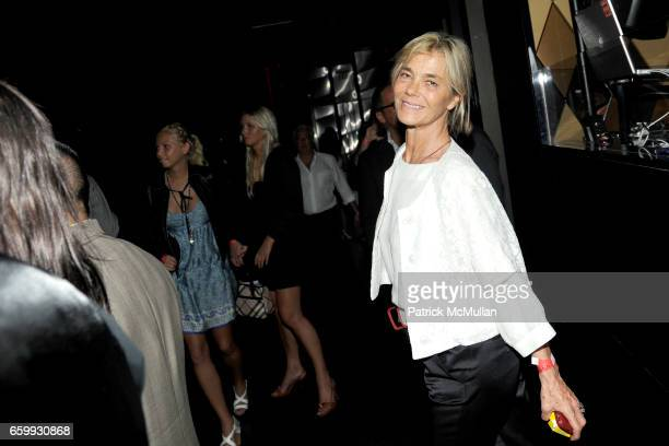 Nadine Johnson attends Party at WALL Hosted by VITO SCHNABEL STAVROS NIARCHOS ALEX DELLAL at WALL at the W SOUTH BEACH on December 3 2009 in Miami...