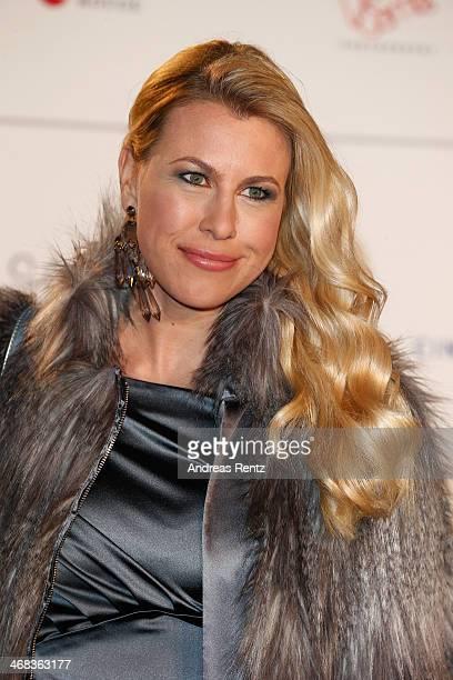 Nadine Krueger arrives for the Cinema For Peace 2014 Gala at Konzerthaus Am Gendarmenmarkt on February 10 2014 in Berlin Germany