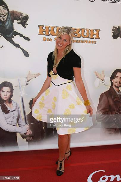 Nadine Kruger At The Premiere Of 'Hui Buh The Goofy Ghost' At The Mathäser movie palace in Munich 160706