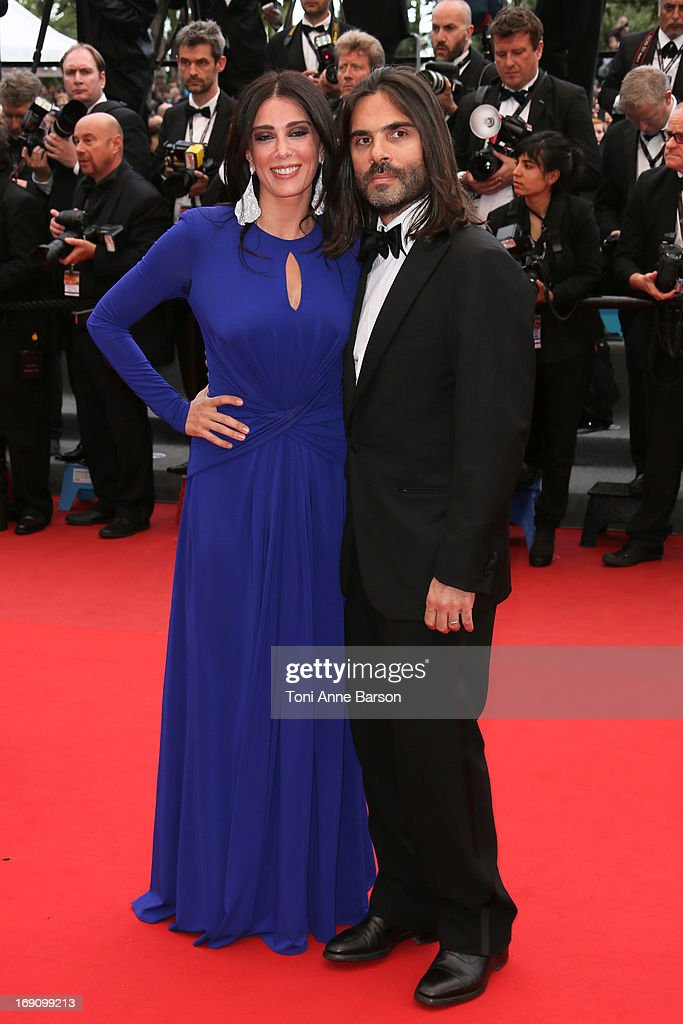 <a gi-track='captionPersonalityLinkClicked' href=/galleries/search?phrase=Nadine+Labaki&family=editorial&specificpeople=2128714 ng-click='$event.stopPropagation()'>Nadine Labaki</a> and her husband Khaled Mouzanar attend the Premiere of 'Inside Llewyn Davis' at The 66th Annual Cannes Film Festival on May 19, 2013 in Cannes, France.