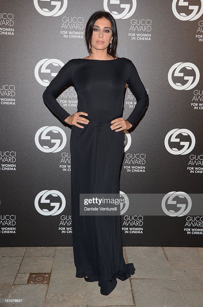 Nadine Labaki attends the Gucci Award for Women in Cinema at The 69th Venice International Film Festival at Hotel Cipriani on August 31, 2012 in Venice, Italy.
