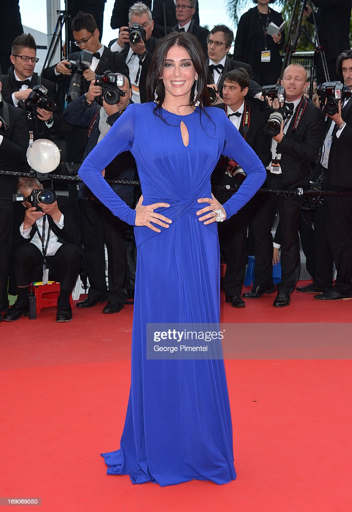 Nadine Labaki attends the Premiere of 'Inside Llewyn Davis' at The 66th Annual Cannes Film Festival on May 19, 2013 in Cannes, France.