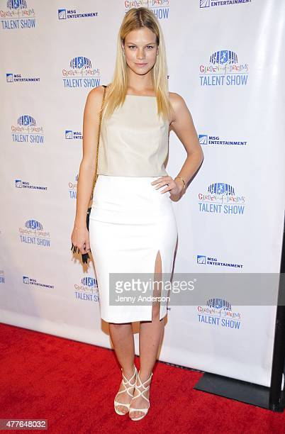 Nadine Leopold attends Garden of Dreams Foundation Children Talent Show at Radio City Music Hall on June 18 2015 in New York City